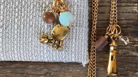 The jewelry in Rebecca Dolber's R.E.D. line have