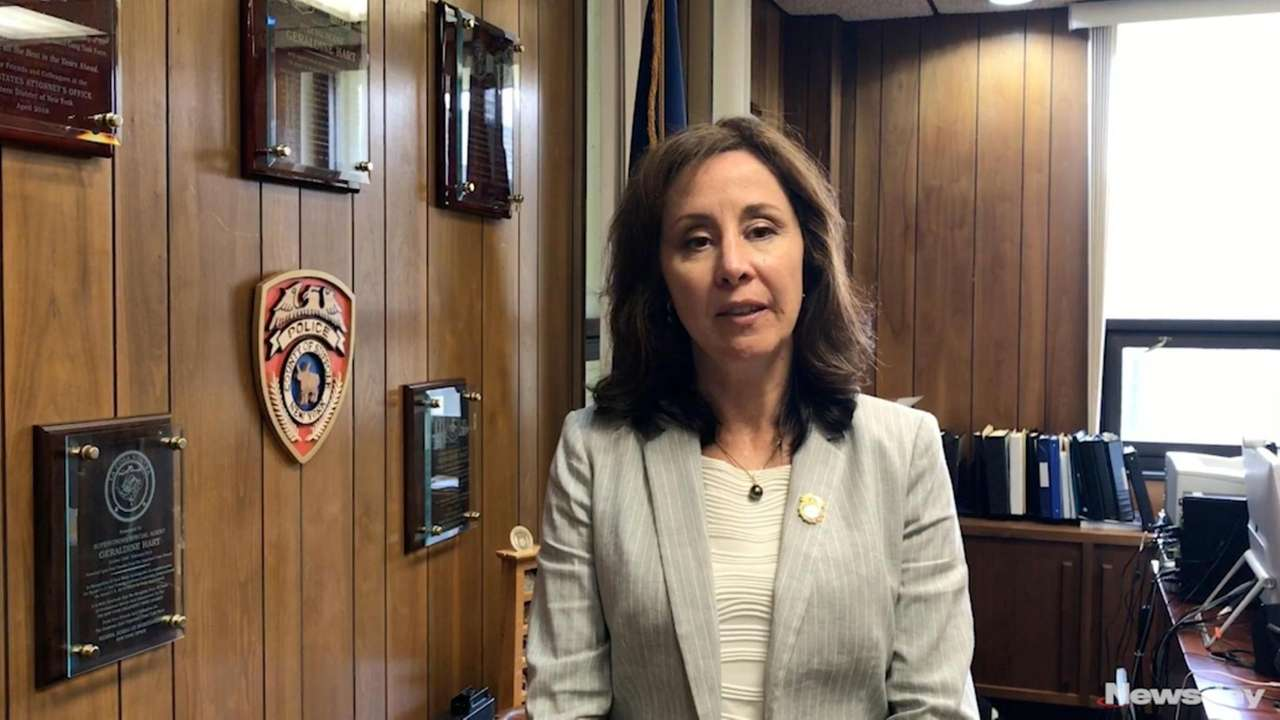 Suffolk Police Commissioner Geraldine Hart on Thursday discussed