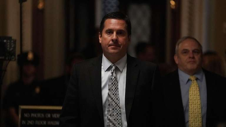 Rep. Devin Nunes, chairman of House Intelligence Committee,