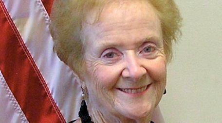 Westbury Deputy Mayor and Trustee Joan M. Boes.