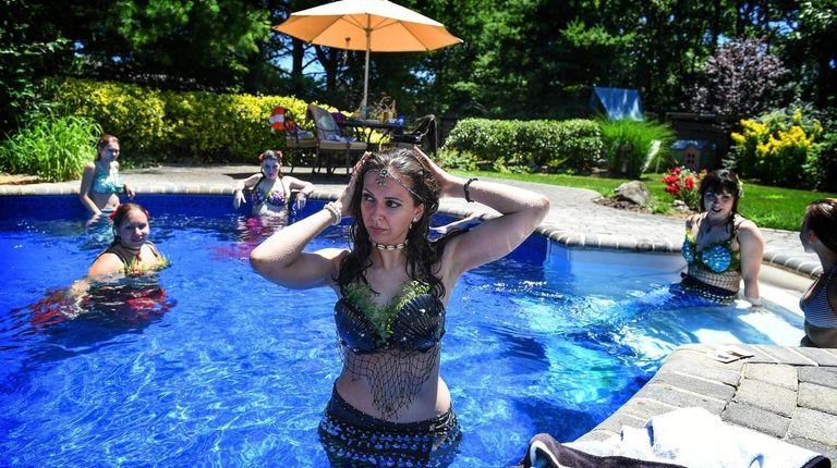 Samantha LaRocca (aka Mermaid Sammei), of Lake Grove,