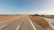 A motorist exits Jones Beach Field 6 to