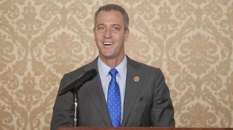 U.S. Rep. Sean Patrick Maloney speaks to Democrats