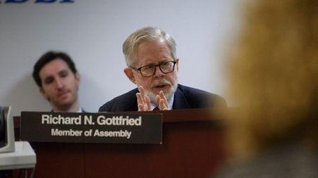 New York State Assemb. Richard Gottfried (D-Manhattan) is
