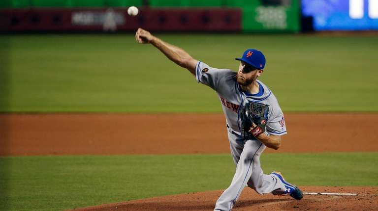 Zack Wheeler didn't give up a hit until
