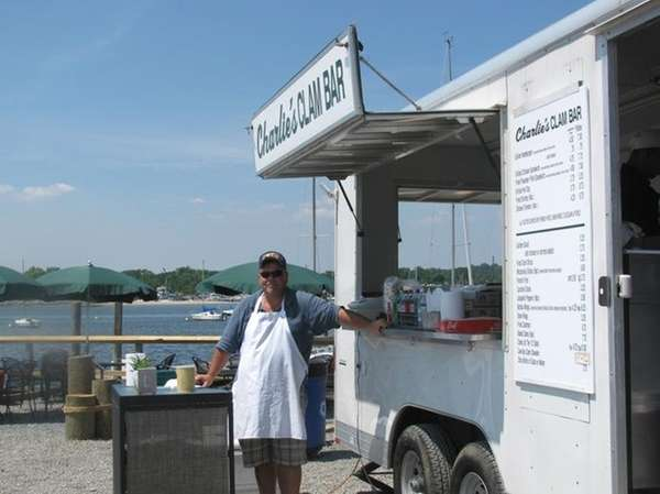 Chris Bollerman, owner of Charlie's Clam Bar on