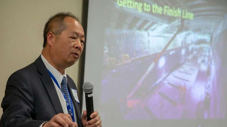 Long Island Rail Road president Phillip Eng, seen