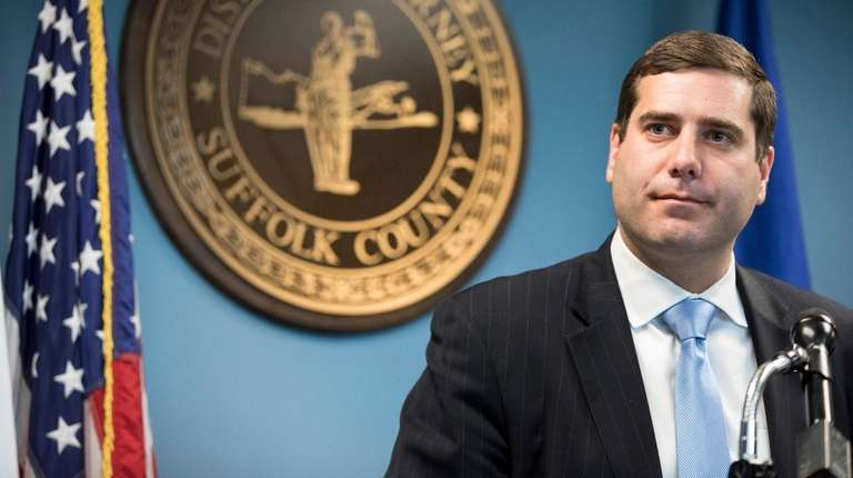 Suffolk County District Attorney Timothy Sini announced a