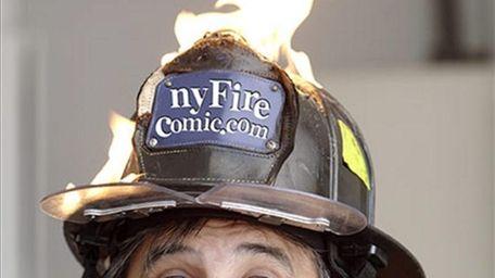 Comedian John Larocchia, a retired NYFD fireman, will
