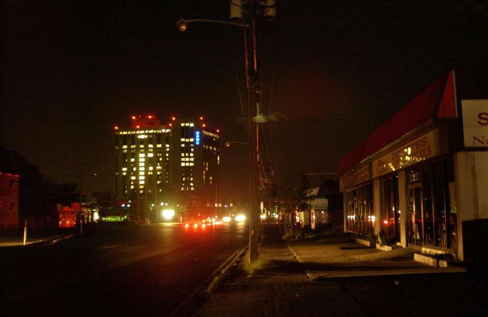 Photographs of the Blackout of August 14, 2003.