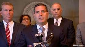 Suffolk District Attorney Timothy Sini announced a new