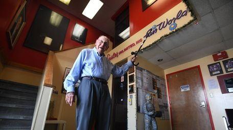 Stanley Geller, 92, drives himself Monday through Friday