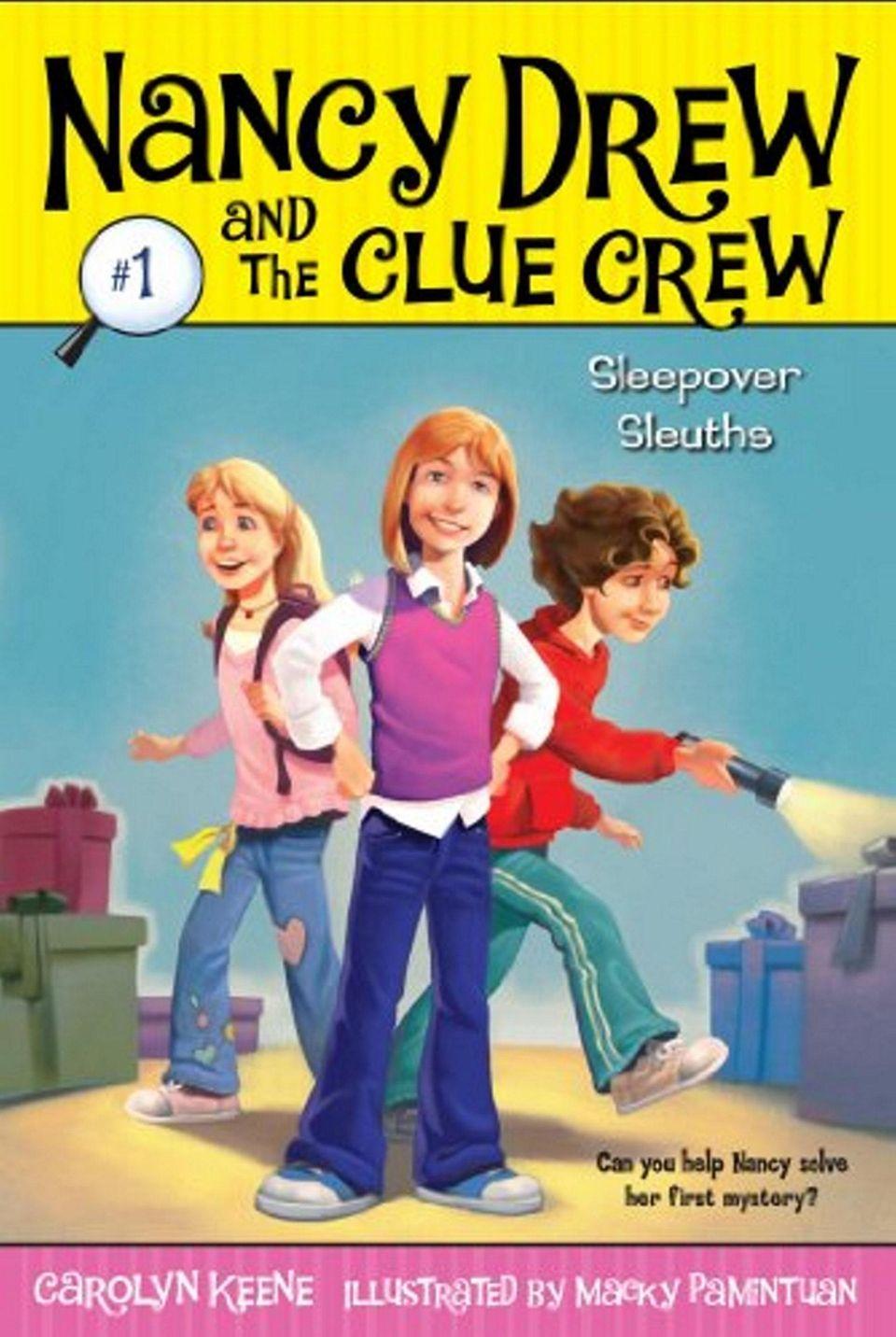 Nancy Drew and the Clue Crew Sleepover Sleuths