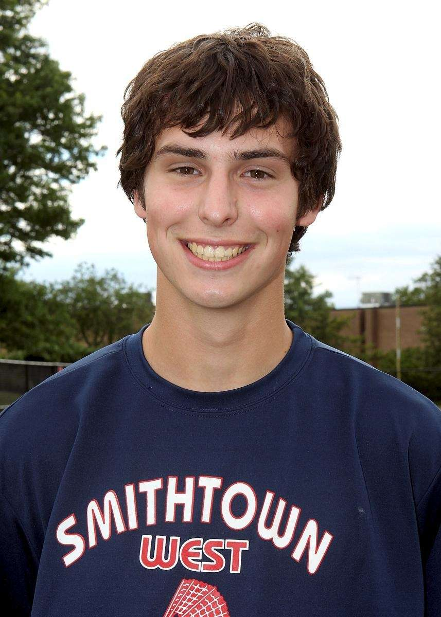 DERRICK LADEAIROUS Smithtown West Doubles, Senior With Greg