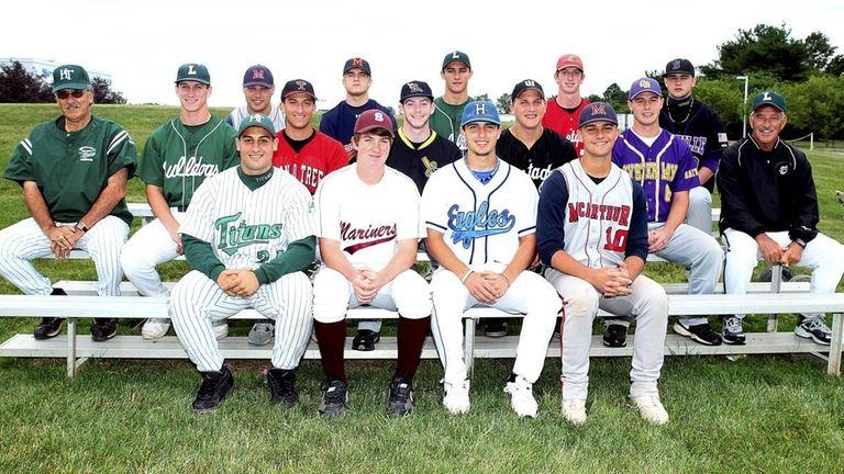 Above: The 2010 All-Long_Island high school baseball team.