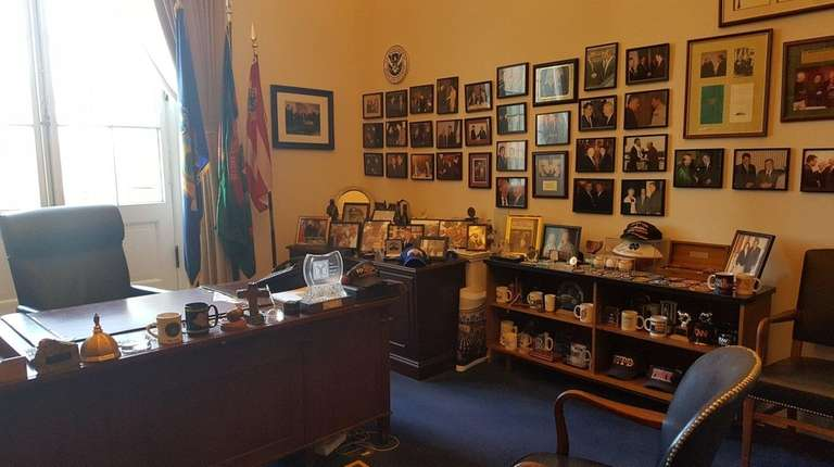 Rep. Peter King's office in the Cannon House