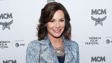 Luann de Lesseps, seen here in Manhattan on