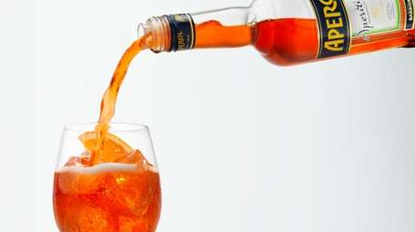 The classic aperitif known as Aperol spritz is