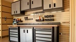 Garage cabinets offer an easy way to collect,
