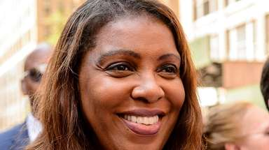 Letitia James, the frontrunner in the Democratic primary