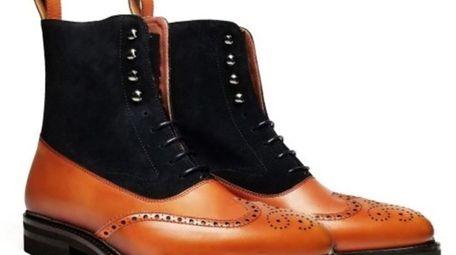 Washington Apparel Prestige Suede Wingtip Boot, $230, at