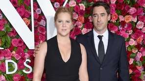 Amy Schumer and Chris Fischer attend the Tony
