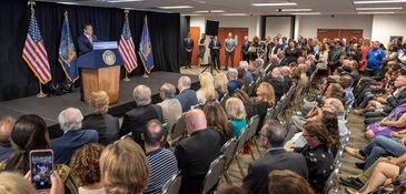 Gov. Andrew M. Cuomo announces a $10 million