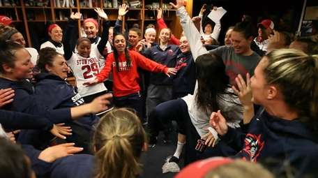 Newsday chronicled the Stony Brook women's lacrosse team's