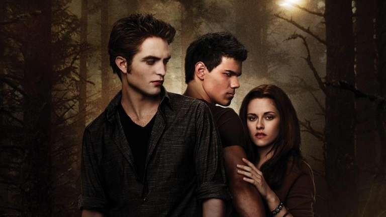 Robert Pattinson, Taylor Lautner and Kristen Stewart star
