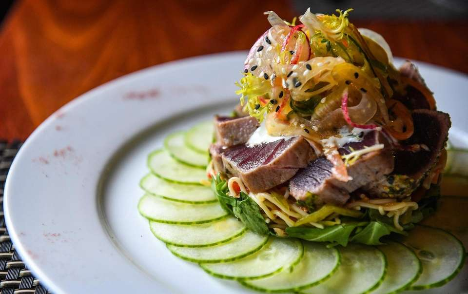 Nori Tuna served at the Black & Blue