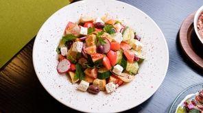 Fattoush bread salad at Rothchilds Coffee & Kitchen
