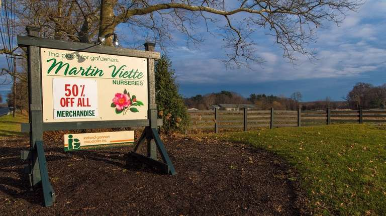 The former Martin Viette Nurseries in East Norwich,