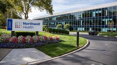 Northwell Health's headquarters building at 2000 Marcus Ave.