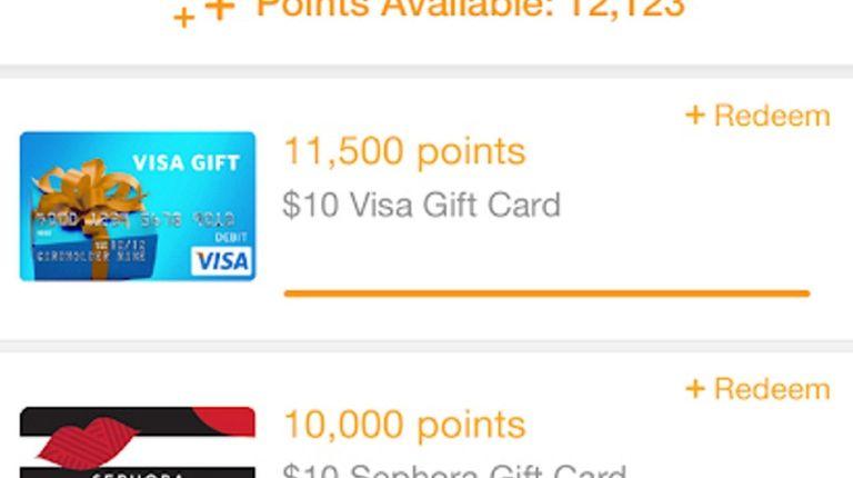 Fetch Rewards - (iOS, Android; free) - No