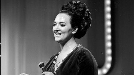 Morgana King in 1965.