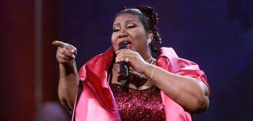 "Aretha Franklin performs during ""VH1 Divas Live: The"