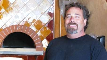 Dave Plath, proprietor of Grana pizzeria in Jamesport,