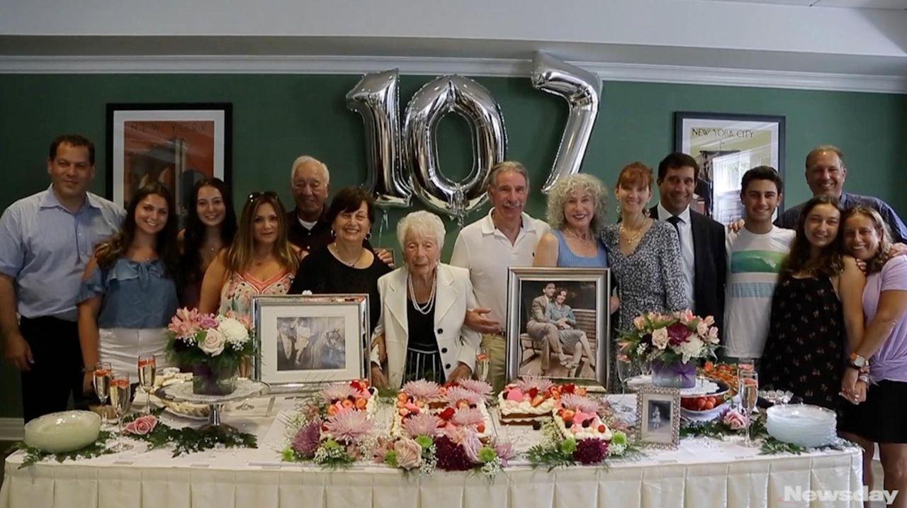 Henrietta Dobin celebrated her 107th birthday on Thursday