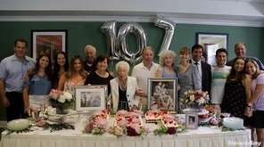 Henrietta Dobin celebrated her 107th birthday on Thursday