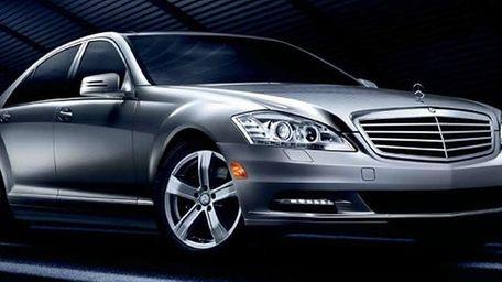 A Mercedes-Benz S-Class sedan