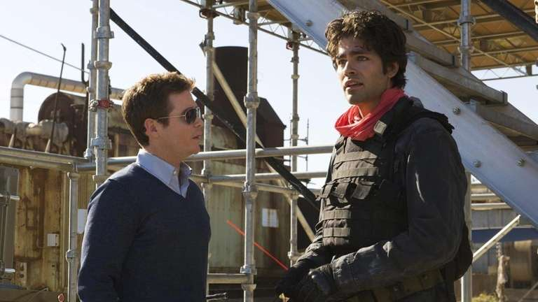 Kevin Connolly, left, and Adrian Grenier in 2010's