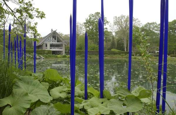 Photographs at LongHouse Reserve, the home of Jack