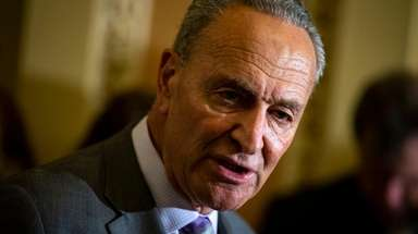 Senate Minority Leader Chuck Schumer (D-N.Y.) on July