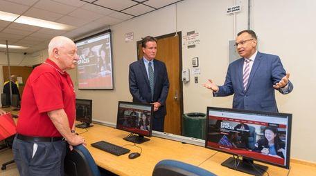 At the Stony Brook School of Engineering, Senators