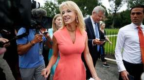 Counselor to President Trump Kellyanne Conway, seen on