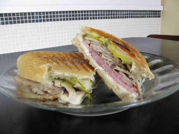 Cuban sandwich at In the Mood, the Woodbury