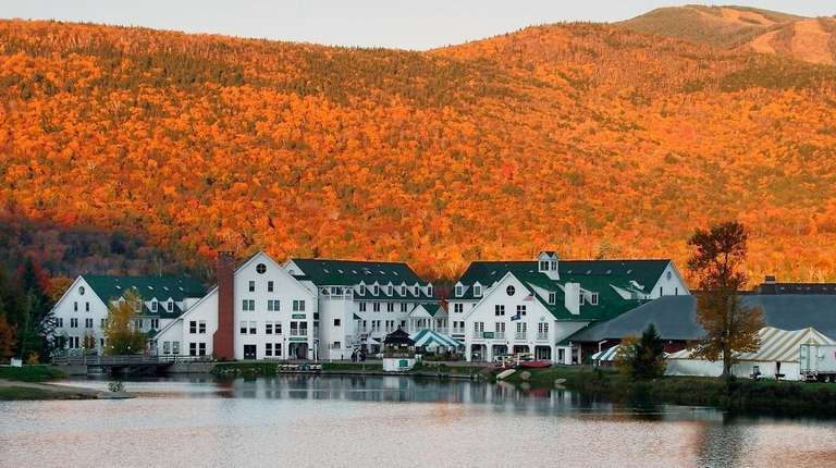 Stay at the Waterville Valley Resort in New