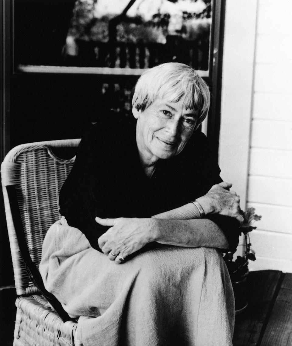 "Ursula K. Le Guin, author of ""No Time"