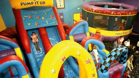 Pump It Up in Plainview