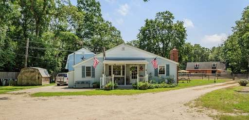 The two-bedroom, one-bath ranch house in Central Islip